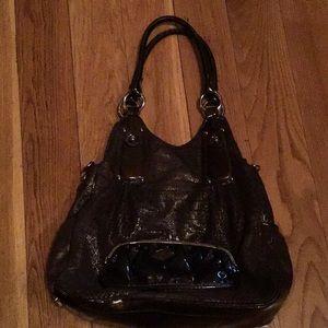 Kathy Van Zeeland brown purse excellent condition